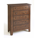 Broyhill Attic Heirlooms Drawer Chest in Natural Oak Stain 4397-22S
