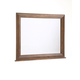 Broyhill Attic Heirlooms Dresser Mirror With Back Supports in Natural Oak Stain 4397-36S