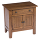 Broyhill Attic Heirlooms Door Nightstand in Natural Oak Stain 4397-93S