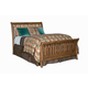 Kincaid Homecoming Solid Wood Queen Sleigh Bed in Vintage Oak 34-150P