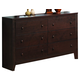 Coaster Remington Dresser in Cherry 202313