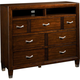 Broyhill Eastlake 2 Media Chest in Warm Brown Cherry 4264-225