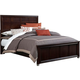 Broyhill Eastlake 2 Eastern King Panel Bed in Warm Brown Cherry 4264-252