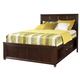 Broyhill Eastlake 2 Eastern King Storage Panel Bed in Warm Brown Cherry 4264-252ST