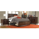 Broyhill Eastlake 2 Storage Panel Bedroom Set in Warm Brown Cherry 4264PSTBR