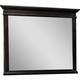 Broyhill Farnsworth Landscape Dresser Mirror in Inky Black Stain 4856-236