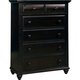 Broyhill Farnsworth Drawer Chest in Inky Black Stain 4856-240