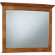 Broyhill Hayden Place Landscape Dresser Mirror in Golden Oak 4645-238
