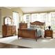 Broyhill Hayden Place Panel Bedroom Set in Golden Oak 4645PBR