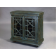 Pulaski Hall Chest in Distressed Green Finish