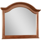 Broyhill Hayden Place Arched Dresser Mirror in Light Cherry 4648-237