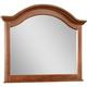 Broyhill Hayden Place Arched Dresser Mirror in Light Cherry 4648-237