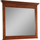 Broyhill Hayden Place Landscape Dresser Mirror in Light Cherry 4648-238