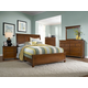 Broyhill Hayden Place Sleigh Bedroom Set in Light Cherry 4648SBR