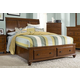 Broyhill Hayden Place Queen Storage Sleigh Bed in Light Cherry 4648-270ST