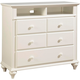 Broyhill Hayden Place Media Chest in Linen White 4649-225
