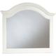 Broyhill Hayden Place Arched Dresser Mirror in Linen White 4649-237