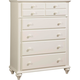 Broyhill Hayden Place Drawer Chest in Linen White 4649-240