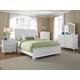 Broyhill Hayden Place Sleigh Bedroom Set in Linen White 4649SBR