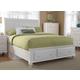Broyhill Hayden Place Queen Storage Sleigh Bed in Linen White 4649-270ST