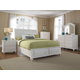 Broyhill Hayden Place Storage Sleigh Bedroom Set in Linen White 4649SSTBR