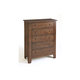 Broyhill Attic Heirlooms Drawer Chest in Rustic Oak 4399-22
