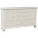 Broyhill Mirren Harbor Door Dresser in White 4024-232