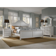 Broyhill Mirren Harbor Arched Panel Bedroom Set in White 4024APBR