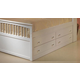 New Classic Bayfront Storage Drawer Unit in White Painted Finish 1415-098