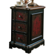 Hooker Furniture Seven Seas 3 Drawer Black & Red Accent Chest 500-50-515 SALE Ends Oct 20