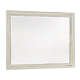Universal Furniture Summer Hill Landscape Mirror in Cotton 98705M SPECIAL