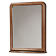 Universal Smartstuff Classics 4.0 Storage Mirror in Saddle Brown 1311030 CLOSEOUT