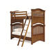 Universal Smartstuff Classics 4.0 Twin Bunk Bed in Saddle Brown 1311530 CLOSEOUT