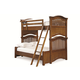 Universal Smartstuff Classics 4.0 Twin Over Full Bunk Bed in Saddle Brown 1311595 CLOSEOUT