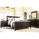 Universal Furniture Summer Hill 4PC Panel Bedroom Set in Midnight