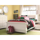 Universal Smartstuff Classics 4.0 Full Sleigh Bed in Summer White 131A041 CLOSEOUT