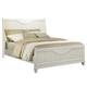 Homelegance Alyssa King Panel Bed in White 2136KW-1EK