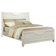 Homelegance Alyssa Queen Panel Bed in White 2136W-1