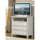 Homelegance Alyssa TV Chest in White 2136W-11