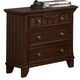 Homelegance Alyssa Nightstand in Cherry 2136C-4