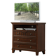 Homelegance Alyssa TV Chest in Cherry 2136C-11