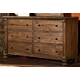 Homelegance Ardenwood Dresser in Natural Antique 893-5