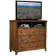 Homelegance Ardenwood TV Chest in Natural Antique 893-11