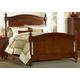 Homelegance Aris King Poster Bed in Warm Brown Cherry 1422K-1EK