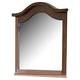 Homelegance Aris Mirror in Warm Brown Cherry 1422-6