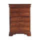 Kincaid Chateau Royale Solid Wood Drawer Chest in Aged Maple 53-105