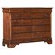 Kincaid Chateau Royale Solid Wood Bureau in Aged Maple 53-161R