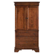 Kincaid Chateau Royale Solid Wood Armoire in Aged Maple 53-165