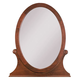 Kincaid Chateau Royale Solid Wood Oval Mirror in Aged Maple 53-113