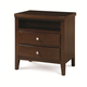 Universal Smartstuff Freestyle Nightstand in Mocha 1371080